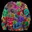 เสื้อยืดพิมพ์ลาย MR.GUGU & Miss GO : Roses sweater thumbnail 1