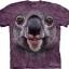 Pre.เสื้อยืดพิมพ์ลาย3D The Mountain T-shirt : Koala Face thumbnail 1