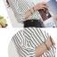 (Pre-Order) เสื้อชีฟองแขนยาว เสื้อทำงานแขนยาว ลายขาว-ดำ แฟชั่นเสื้อมาใหม่ปี 2014 thumbnail 7